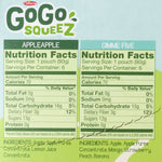 GoGo SqueeZ Applesauce, Fruit On the Go, Variety Pack, 12 Ct - Water Butlers