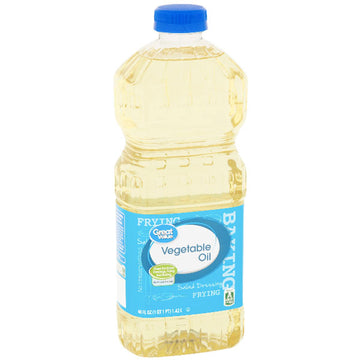 Great Value Vegetable Oil, 48 fl oz