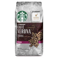 Starbucks Caffe Verona Dark Roast Ground Coffee, 12 oz - Water Butlers