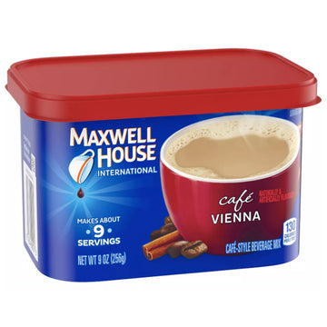 Maxwell House Café Vienna Cafe Mix Coffee, 9 oz