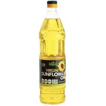 Authentic Menu Imported Virgin Sunflower Oil, 33.8 fl oz