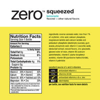 Vitaminwater zero Squeezed, 16.9 fl oz, 6 Ct - Water Butlers
