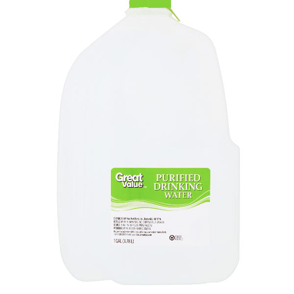 Great Value Drinking Water, 1 Gallon - Water Butlers