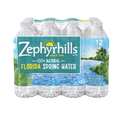 Zephyrhills Water 16.9oz bottles, 12 Count