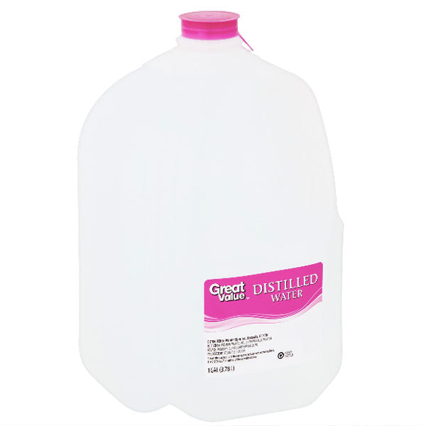 Great Value Distilled Water, 1 Gallon - Water Butlers