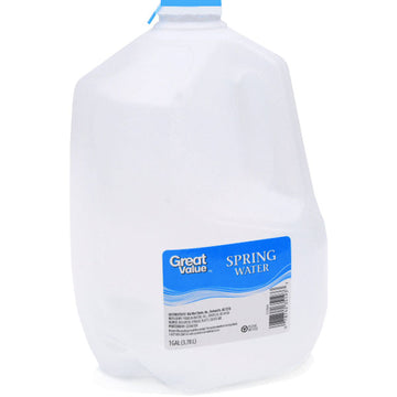 Great Value Spring Water, 1 Gallon