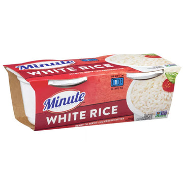 Minute Microwaveable White Rice 8.8oz, 2 Ct