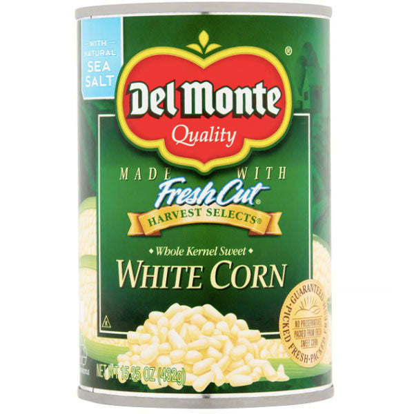 Del Monte White Corn, 15.25 oz - Water Butlers