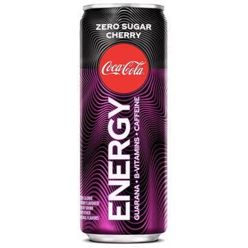Coca-Cola Energy Zero Cherry Coke, 12 fl oz