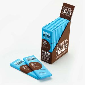 Case of Supertreats Silky Smooth Mylk carob chocolate bars