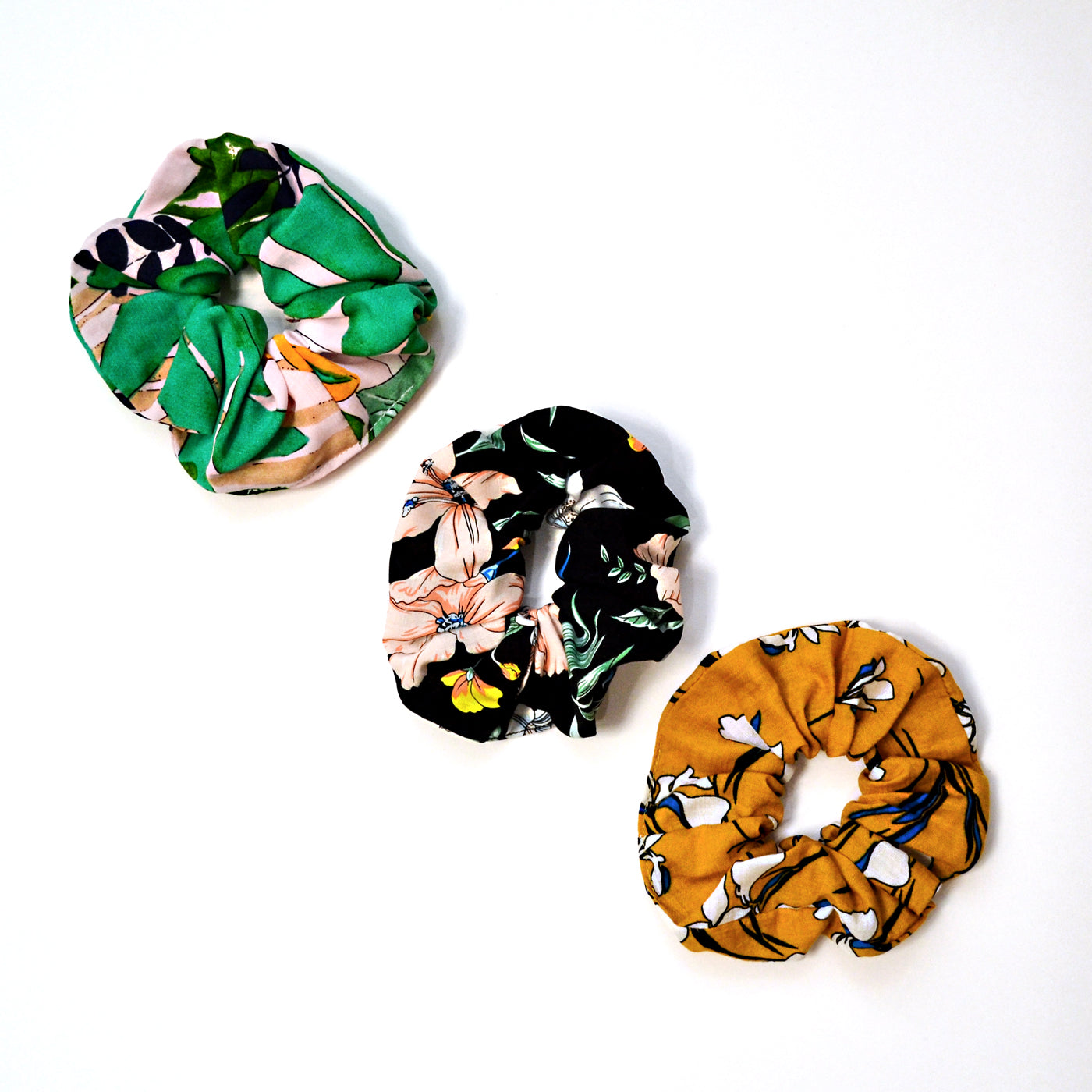 Botanical Scrunchie Set