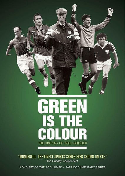 Green is The Colour: The History of Irish Soccer Documentary 2DVD Set