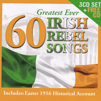 60 Irish Rebel Songs - Various Artists 4CD