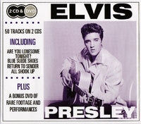 Elvis Presley - 2CD & DVD (50 Tracks + Live Performances DVD)
