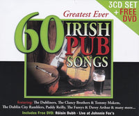 60 Greatest Ever Irish Pub Songs - Various Artists 3CD/DVD
