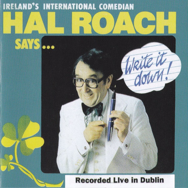 Hal Roach - Write It Down CD