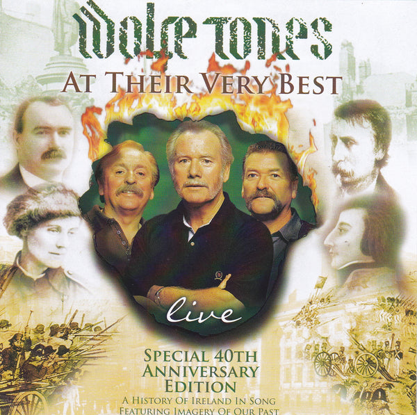 The Wolfe Tones - At Their Very Best Live 2CD