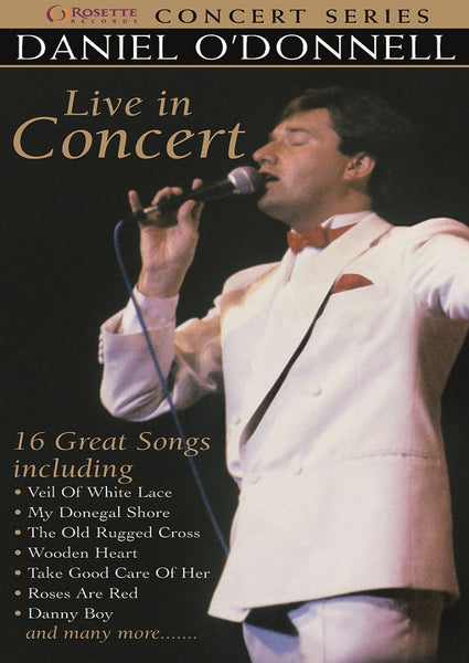Daniel O'Donnell - Live In Concert DVD