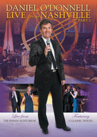Daniel O'Donnell - Live From Nashville Part 1 DVD