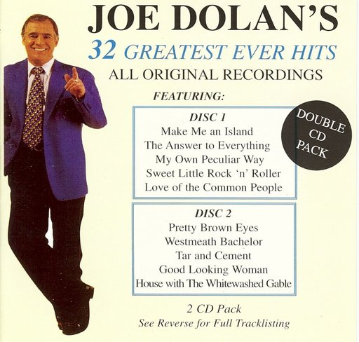 Joe Dolan - 32 Greatest Ever Hits 2CD