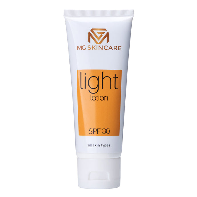 MG SPF 30 - Light Lotion - MG Skincare