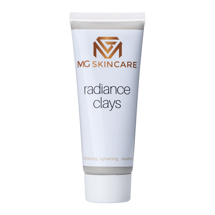 MG Skincare Radiance Clay Mask - kaolin clay + black charcoal - MG Skincare