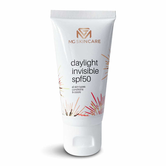MG SPF 50 - daylight invisible all skin conditions & colors - MG Skincare
