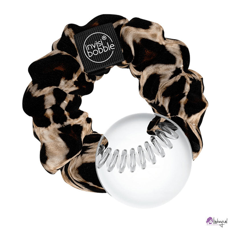 invisibobble sprunchie tiger print