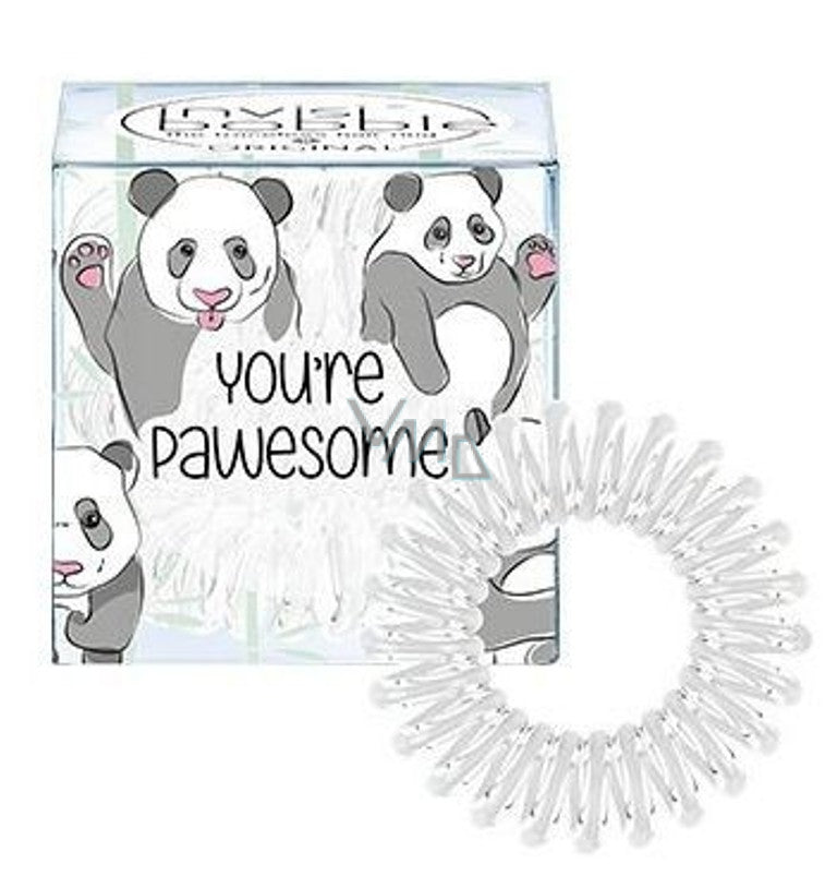 invisibobble original transparant panda