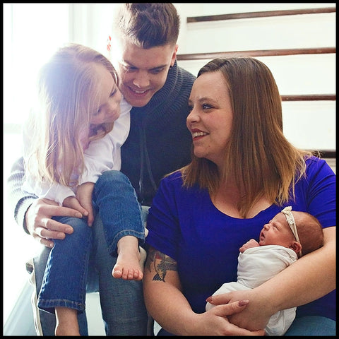 Tierra Reign founders Tyler and Catelynn Baltierra and their children