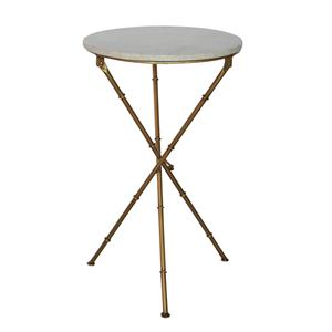 French Country Crosby x-Leg Side Table