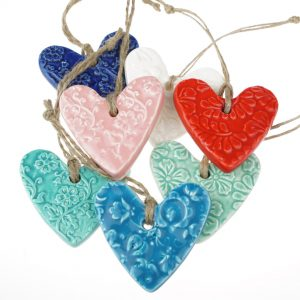 Hasina Small Ceramic Heart