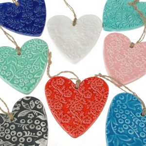Hasina Large Ceramic Heart