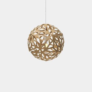 David Trubridge Floral Pendant Light