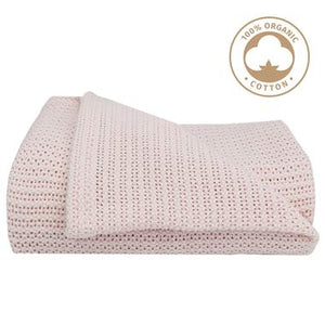 Living Textiles Organic Cotton Bassinet Blanket