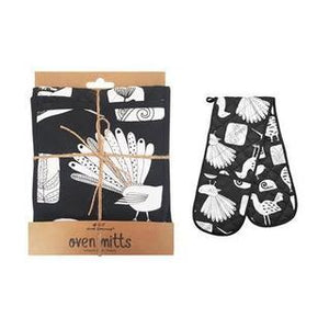 NZ Native Birds Oven Mitts