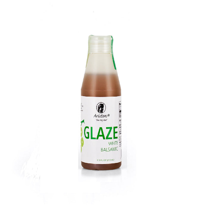White Balsamic Glaze. Product of Greece, Imported by Alpha Omega Imports