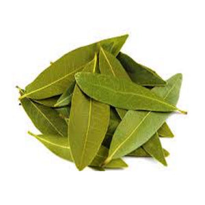Bay Leaves. Grown in Crete, Greece. Imported by Alpha Omega Imports