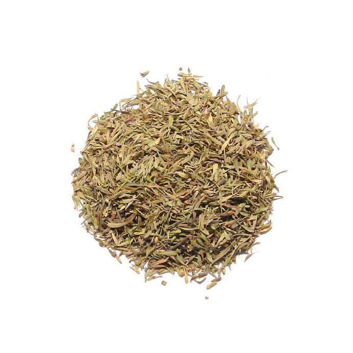 Dry Thyme from Crete Greece. Imported by Alpha Omega Imports