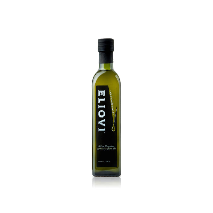 Eliovi Extra Virgin Olive Oil from Crete Greece. First cold pressed, premium quality