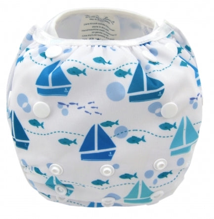 Alva Baby Swim Nappy - Boats