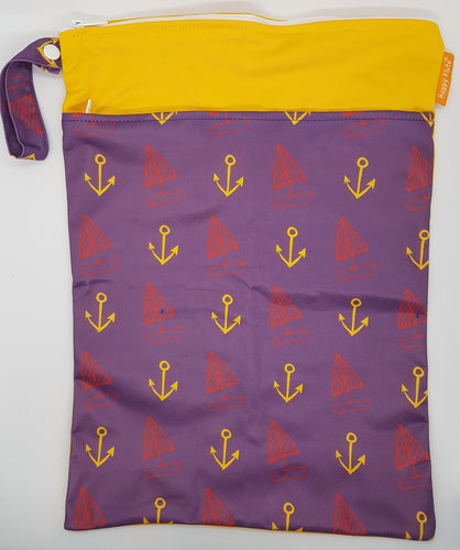 Happy Flute Wet Bag - Anchors