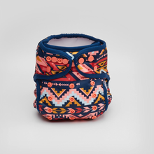 Load image into Gallery viewer, Bubakin Aztec Rose Modern Cloth Nappy