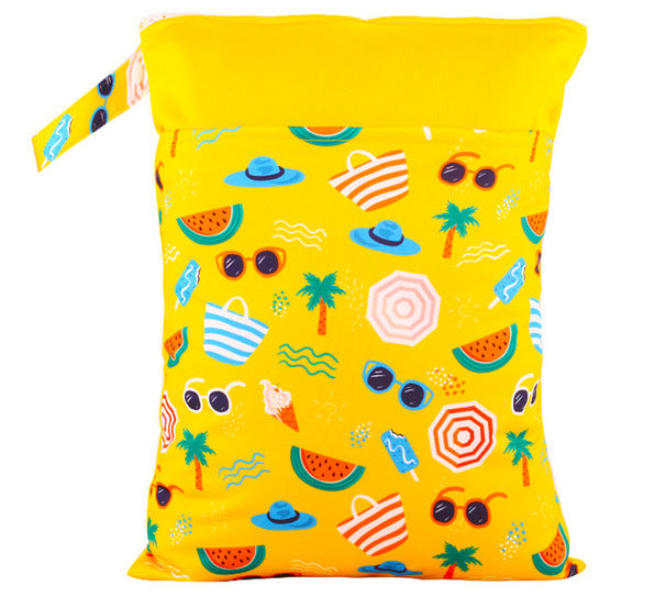 Happy Flute Wet Bag - Beach Days