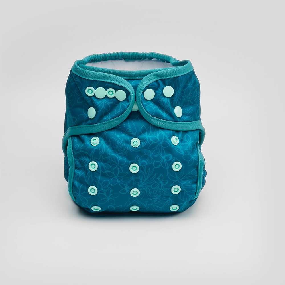 Bubakin Emerald Paradise Modern Cloth Nappy