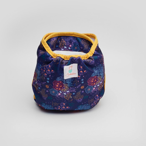 Bubakin Midnight Posy Modern Cloth Nappy