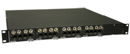 Nitek UTPSYS16 - 16 Port Video Power and Data Distribution System - Bulk CCTV Store