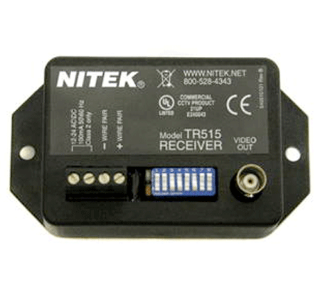 Nitek TR515 - Active Video Balun Receiver - Bulk CCTV Store