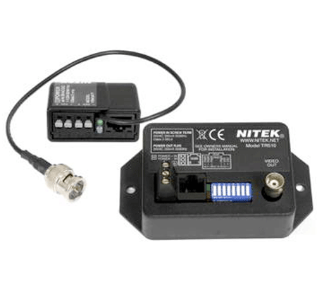 Nitek TS510M - Active Video Balun Set - Bulk CCTV Store