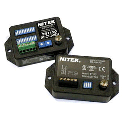 Nitek EX1120 - Active Video Balun Set - Bulk CCTV Store